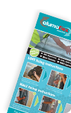 printed insulation leaflets