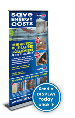Alumaflex Insulation Merchant Display Stands